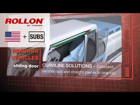 Linearschienen für Anwendungen in der Fahrzeugtechnik