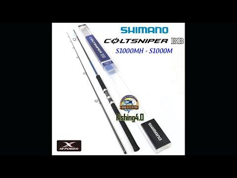 Cần Câu Shimano COLTSNIPER BB S1000MH - S1000M - Chính hãng - Chất Lượng