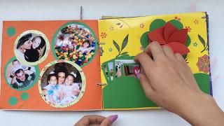 DIY | FAMILY PHOTO ALBUM | SCRAPBOOK