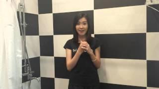 阿 Moon 劉佩玥接受 Ice Bucket Challenge 冰桶挑戰 (TVB)