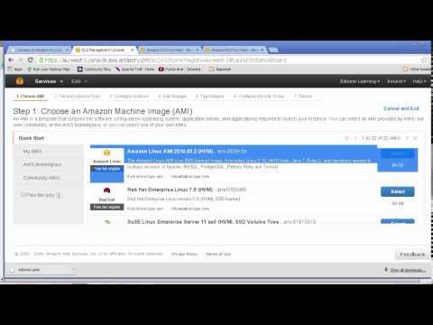 IaaS PaaS on Amazon AWS EC2