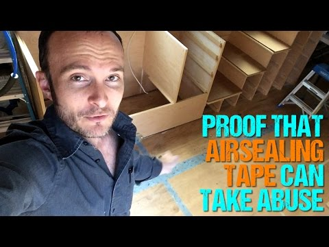 Air Sealing Tape: Durability Proof