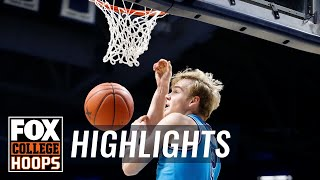 Mac McClung's 19 points weren't enough to get Georgetown past Xavier | FOX COLLEGE HOOPS HIGHLIGHTS