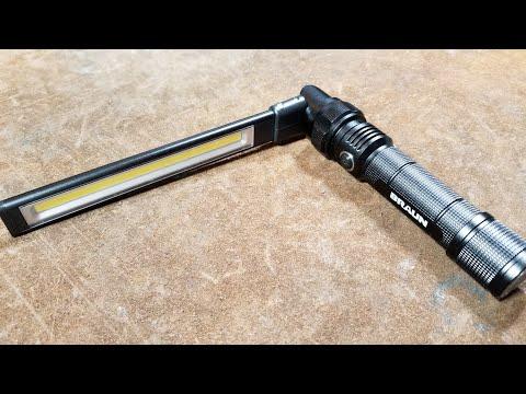Harbor Freight Braun Slim Li-Ion LED Stick Light Review