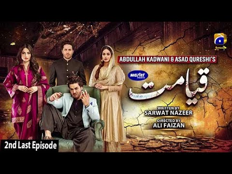 Qayamat - 2nd Last Episode 46 [Eng Sub] - Digitally Presented by Master Paints - 15th June 2021