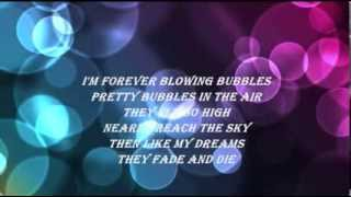 DORIS DAY - I'M FOREVER BLOWING BUBBLES