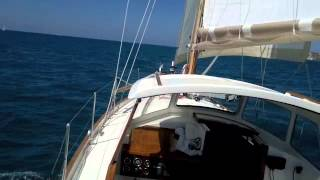 SAILING FROM CAPE OF ANZIO TO ROME