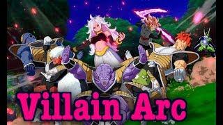 Dragon Ball Fighterz Movie | Villain Arc | All Cut Scenes