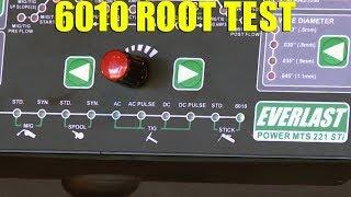 🔥 6010 Root Pass and Hot Pass with Restarts (Everlast PowerMTS 221STi)