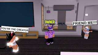 THESE ROBLOX ODERS THOUGHT I WAS THE CREATOR