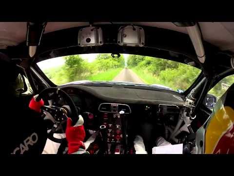 Onboard Porsche GT3 Zeltner/Zeltner Hessen Rallye 2014