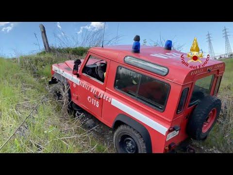 Il corso di guida per Vigili del Fuoco