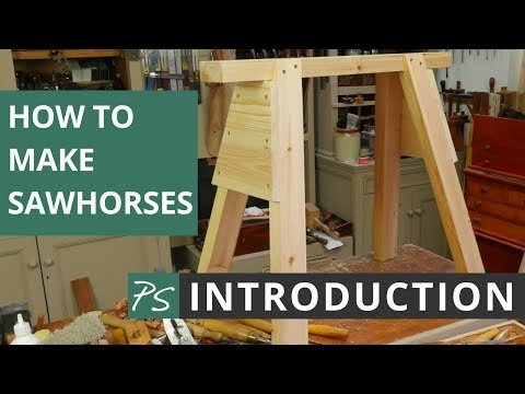 How to Make Sawhorses Introduction | Paul Sellers