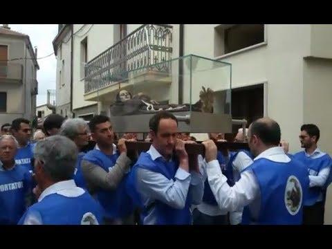Preview video Video processione Beato Egidio 2018 diretta streaming Laurenzana 27 maggio 2018