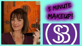THE 5 MINTUE MAEKUP FOR OLDER WOMEN~HOW TO GET READY FAST AND LOOK GREAT
