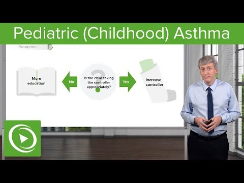 Pediatric Asthma – Pediatrics | Lecturio