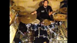 darkane - bound - drum cover by mike Trevino