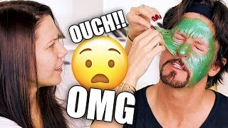 TESTING MASKS  + Q&A with JAMES ... OMG