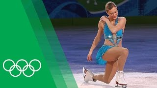 Download Youtube: Joannie Rochette [CAN] on her emotional Olympic bronze medal