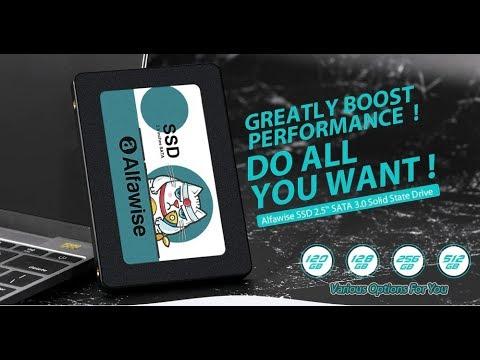 Бюджетный и шустрый Alfawise SSD 2.5 SATA 3.0 с 3DNAND Solid State Drive 120Gb-512Gb