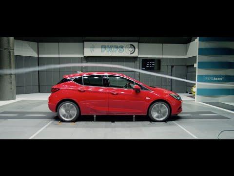 IAA 2015 I Aerodynamics for best efficiency I New Opel Astra