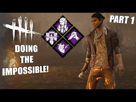 DOING THE IMPOSSIBLE! PT. 1 | Dead By Daylight LEGACY SURVIVOR