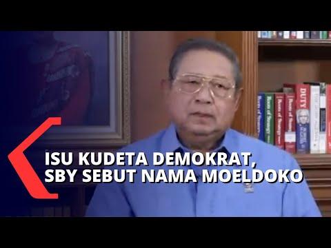 Isu Kudeta Partai Demokrat, SBY Sebut Moeldoko Terlibat