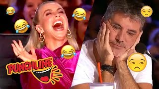 SURPRISE AUDITION Leaves Everyone Laughing EXCEPT SIMON COWELL on America's Got Talent