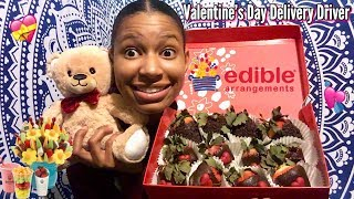 My Expierence Working For Edible Arrangements On Valentines Day