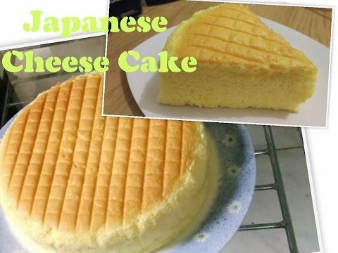 Video Resep Praktis Japanese Cheese Cake