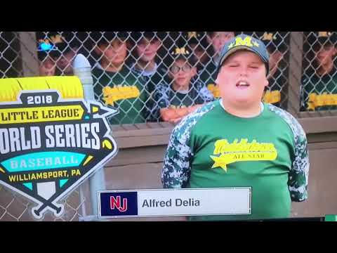 "Little Leaguer ""Big Al"" hits dingers!"