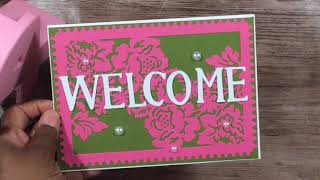 5 x 7 Welcome Cards (30 of them)