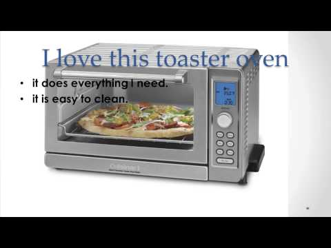 Cooks Food Faster With Cuisinart Tob 135 Deluxe Convection