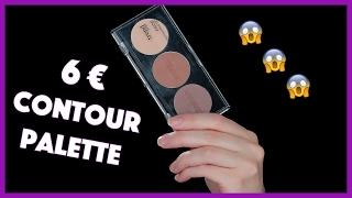 Live Test 6€ Drogerie Contour Palette | Hatice Schmidt