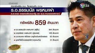 'ธรรมนัส' รวย 800 ล้าน เมีย 2 ลูก 7 ภรรยามีมงกุฎเพชร นางสาวไทย
