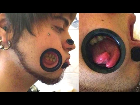 10 Most Shocking BODY MODIFICATIONS On People