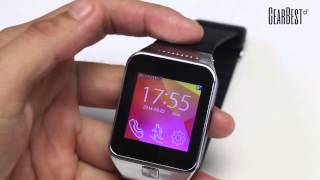 Touch Screen Smart Watch Phone With Single Sim  Bluetooth