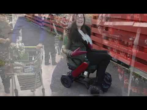 TGA: WHILL Model C - Georgina, accessible travel blogger - vlog 5 - accessing supermarkets YouTube video thumbnail