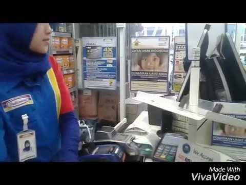Belanja pake ATM
