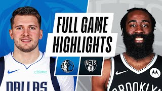 MAVERICKS at NETS | FULL GAME HIGHLIGHTS | February 27, 2021 by NBA