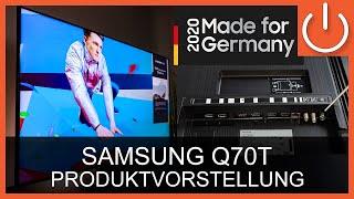 Produktvorstellung - Samsung Q70T Serie 2020