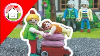 Playmobil Film Deutsch Ü̈bernachten Bei Oma / Kinderfilm / Kinderserie Von Family Stories