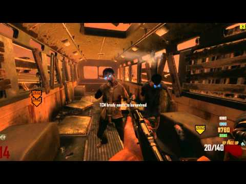 Black Ops 2 Zombies TRANZIT fail