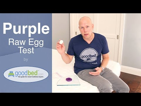 Purple Real Egg Test (VIDEO)