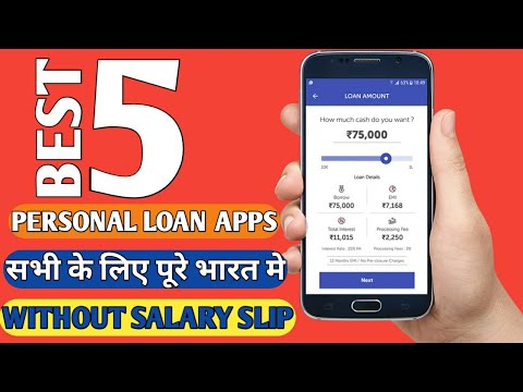 Get Instant Personal loan Upto 1lakh | Without Salary Slip | Top 5 Best Loan Application