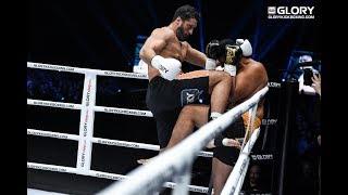 GLORY 62: Jamal Ben Saddik Vs. Junior Tafa (Tournament Quarter Final)   Full Fight