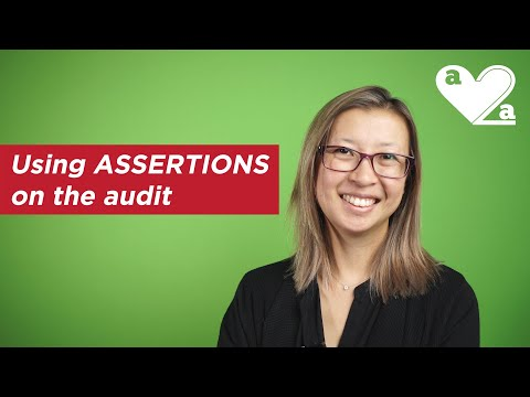 Using ASSERTIONS on the audit - examples of application