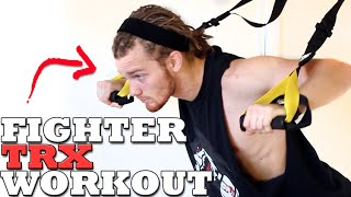 MMA TRX Workout for Functional Training & Conditioning by fightTIPS