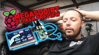 Megasquirt: Pi Dash Preview