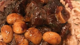 HOW TO MAKE JAMAICAN OXTAILS  (THE SIMPLEST STEP-BY-STEP RECIPE)